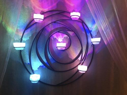 Remote Controlled LED Tea Light Sconce Created by