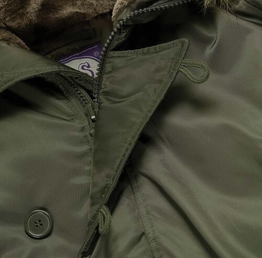 N3B : Parka Jacket Product Code - 7904 Durable 100% nylon shell Smooth 100% polyester lining