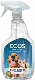 Between Baths, 22 oz. Grooming Spray, Peppermint ECOS TM for Pets!