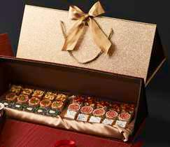 Luxe Premium Gift Box A 6 varieties of 30 sweets Box Colours :