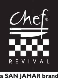 Chef Revival worked closely with some of the industry s top chefs to develop some of the most innovative and high quality chef apparel available.