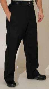 ChefEx Trousers Poly cotton Relaxed fit with zip fly and snap closure Belt