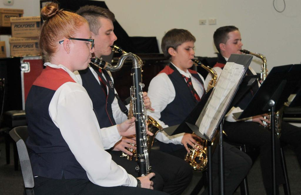 Special Uniforms MacKillop Catholic College Band Uniform At events where our student musicians are representing our College, the Band uniform will be worn.