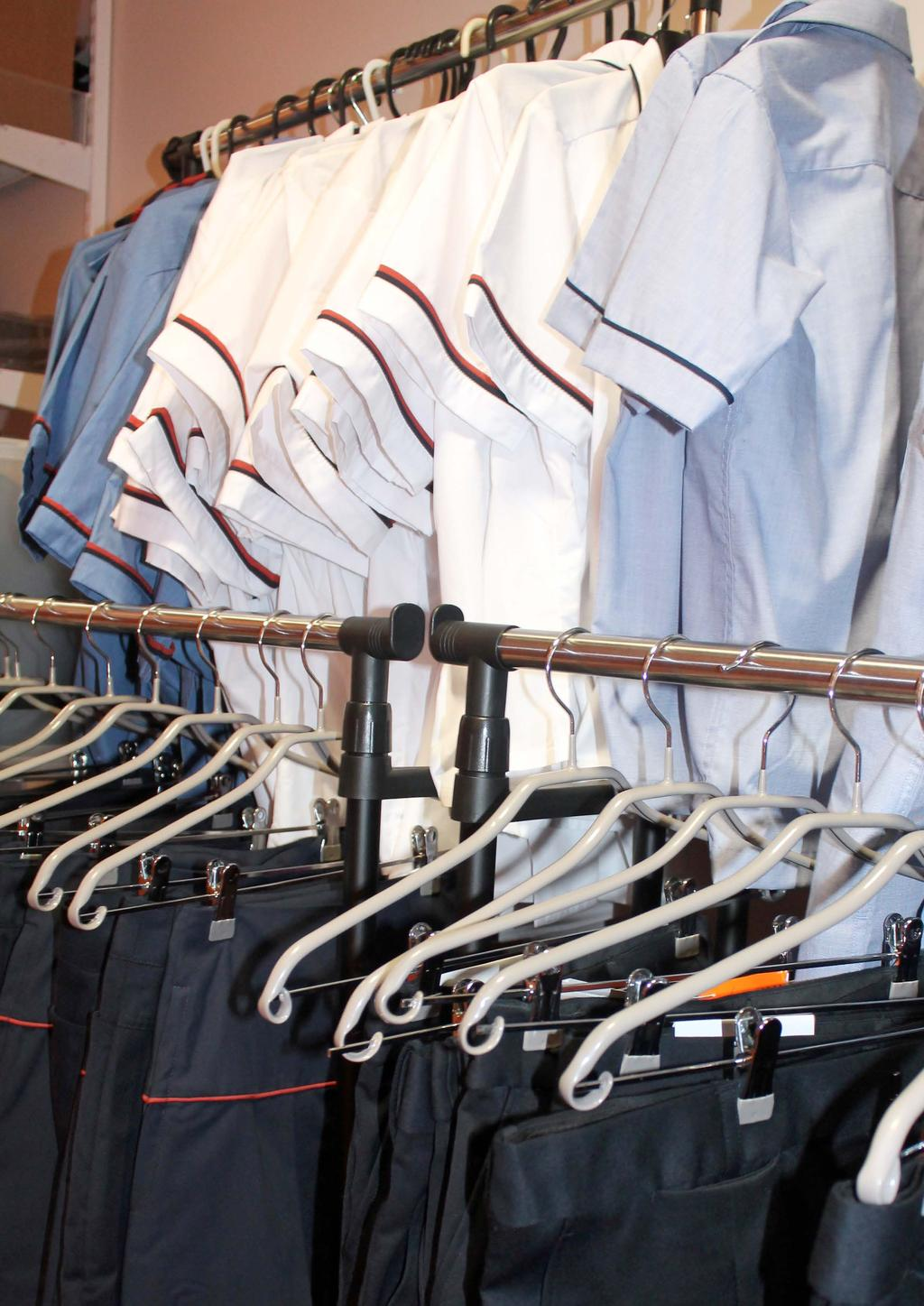 Our Uniform Shop Our uniform shop, situated at the College, is coordinated by Mrs Michelle Gordon.