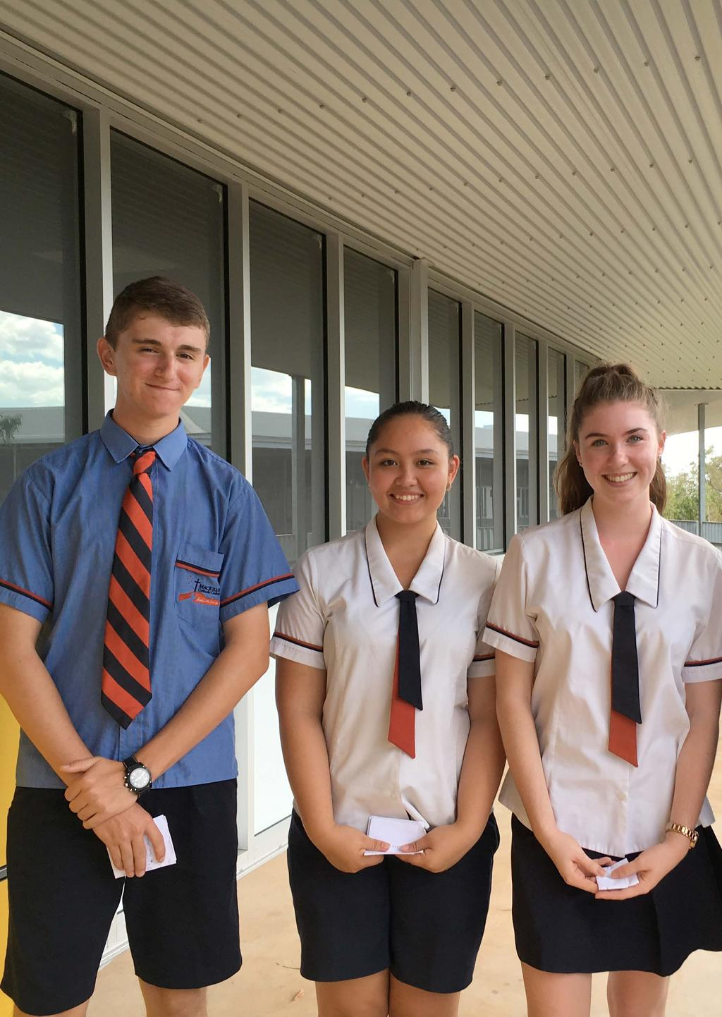 Our Uniform Students at MacKillop Catholic College wear a uniform to connect them to their school community.