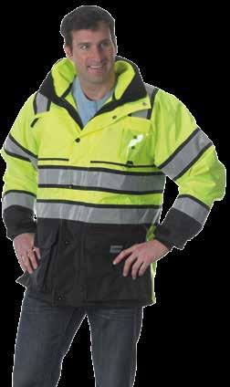 Silver Reflective Trim Sizes: S 2XL Exceeds ANSI/ISEA 107-2010 Class 3 specifications 32 length jacket