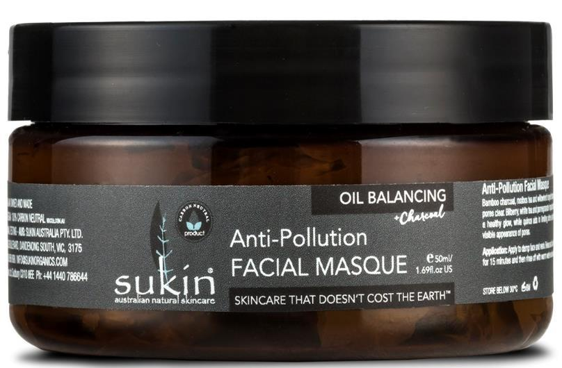 OIL BALANCING OIL BALANCING ANTI-POLLUTION FACIAL MASQUE FACE Actives: Suitable for: How to use: Tips: Size/Price: Oil Balancing with Charcoal ANTI-POLLUTION FACIAL MASQUE Bamboo charcoal, rooibos