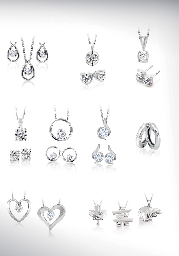 & canadian diamond Silver COLLECTION CS-5062P.085.085ct $149.99 CS-3100P.05.05ct $99.99 CS-5931E.12.12ct $199.99 CS-5931P.085.085ct $159.