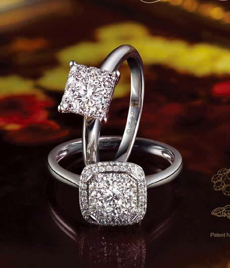 Another trend that he observed is that buyers are now leaning towards more fashionable pieces. They want modern designs instead of the usual round diamond jewellery.