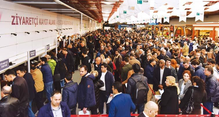 TRADE FAIRS Positive mood reigns at Istanbul Jewelry Show Organiser reports 95 percent increase in overseas buyer turnout 1 By Marie Feliciano The mood at the 44th edition of the Istanbul