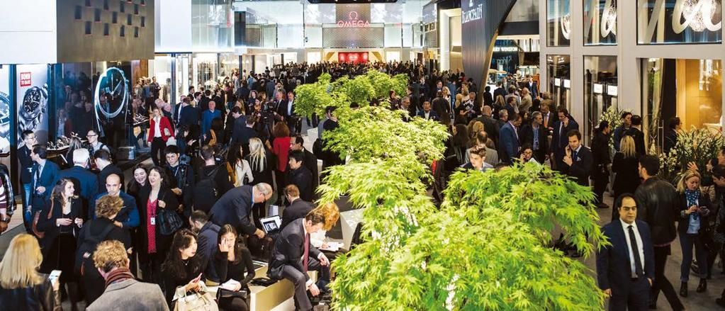 TRADE FAIRS Jewellers, ellers, watchmakers launch inspired collections at BaselWorld BaselWorld 2017 draws more than 106,000 buyers By Marie Feliciano Watchmakers, luxury jewellers and gemstone