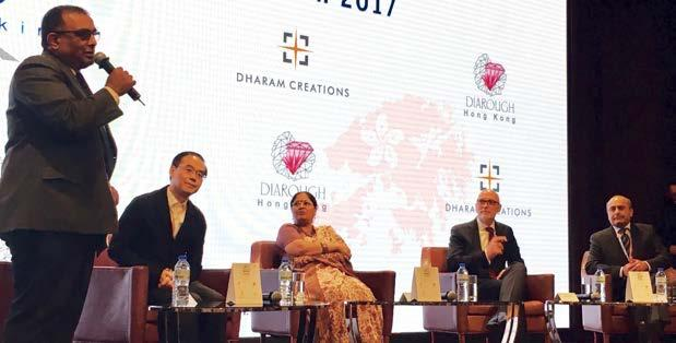 Speaking at the Sarjan Corporate Luncheon in Hong Kong, Nirupa Bhatt, managing director of the Gemological Institute of America (GIA) in India and the Middle East, said, The biggest thing here is the