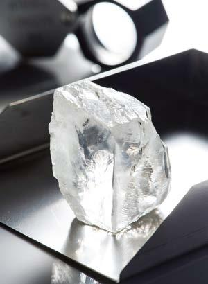 DIAMONDS Petra Diamonds cites improving market demand Petra Diamonds Ltd said it is seeing signs of improvement in the rough diamond market, fuelled mainly by steady demand across all product