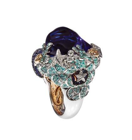 NEWS New colourful collections from Charriol Charriol is offering a more colourful selection of luxury jewellery and watches.