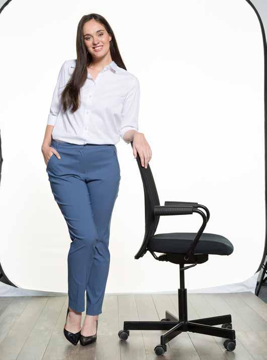 "Slim Slim You show your curves! Emphasizing the figure trousers and jeans straighten the leg optically. Thanks to high stretch all ""Slim"" fits have these feminine ""leggings"" effect."