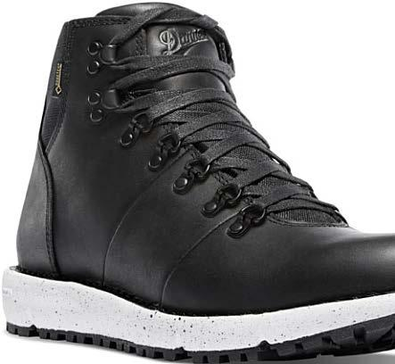 classic boot silhouette and recycled rubber