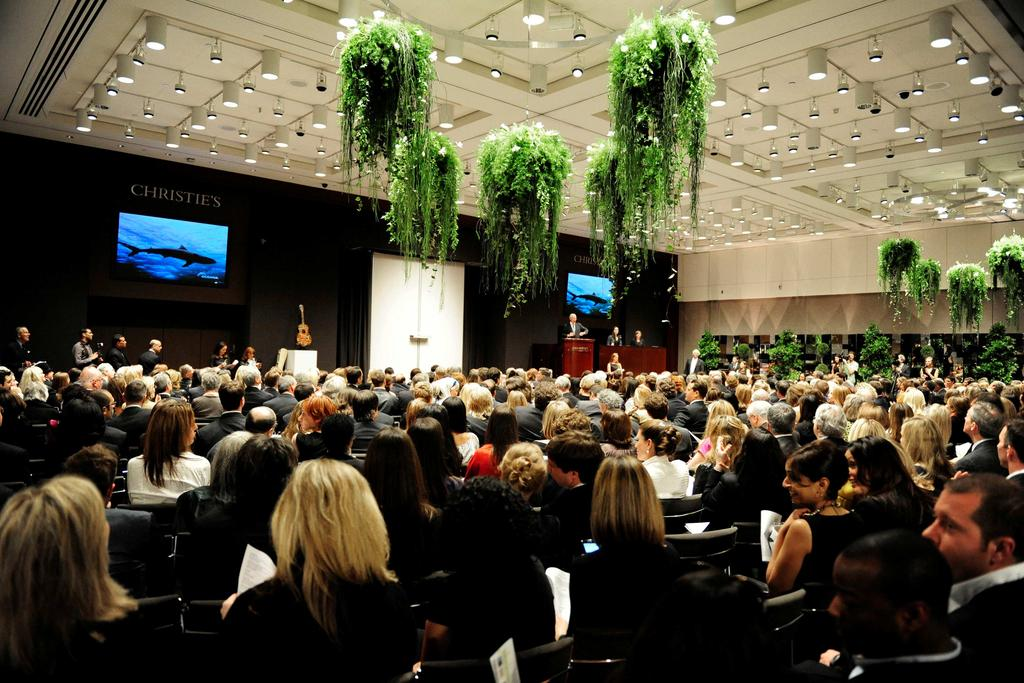 AUCTION ROOMS Host your large-scale event in one of Christie s famous auction spaces.