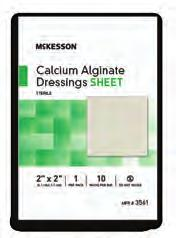"Dressings, Sheet 3563 CONVATEC.39"" x 18"" AQUACEL Ribbon Dressings 420128."