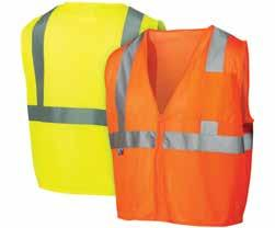 RVZ21SE Series - Non FR RVZ22SE Series - Non FR RVZ24SE Series - Non FR 5 3 Hi-vis self-extinguishing lightweight polyester mesh material with hook and loop closure RVZ2110SE Lime M, L, XL, 2XL, 3XL,