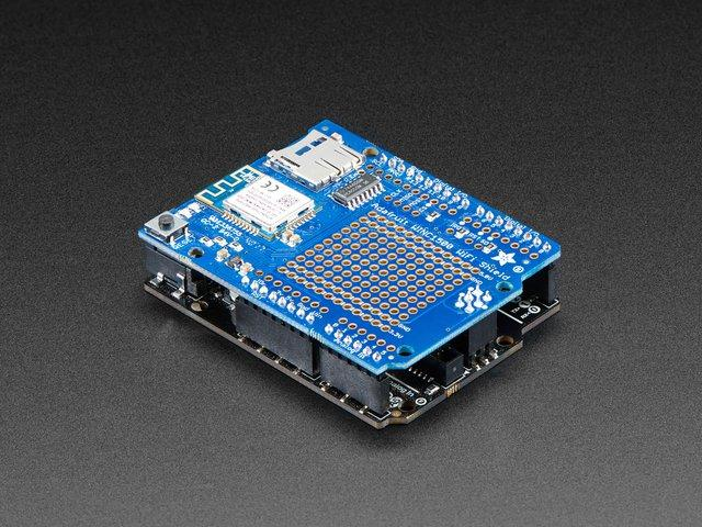 Overview Connect your Arduino-compatible to the Internet with this WiFi shield that features the FCC-certified ATWINC1500 module