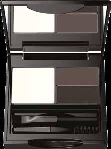 The set exposes the eyebrow natural colour and gives expression to the whole face.