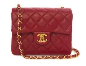 Auction Highlights 337 328 320 A Chanel Blue Patent Leather Tote, $400-600 328 A Chanel Red Quilted Leather Bag, $600-800 333 333 A Chanel Black Quilted Leather Tote, $700-900 336 A Chanel Cream