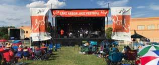 Lake Arbor Jazz Festival FESTIVAL ATTRACTIONS: The Lake Arbor Jazz Festival (LAJF) is a family-friendly community music event showcasing national jazz recording artists and top flight local and
