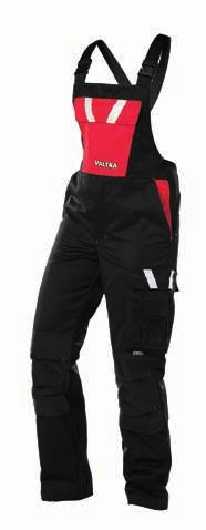 36 WORKWEAR WORKWEAR DOUBE-ZIP OVERA DUNGAREE ightweight but highly durable material, 65% polyester, 35% cotton.