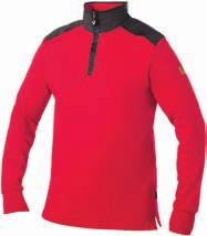 The jacket has reinforcing material that protects the body s more sensitive parts from the cold. Zip-fastened pockets in front on the hem and chest.
