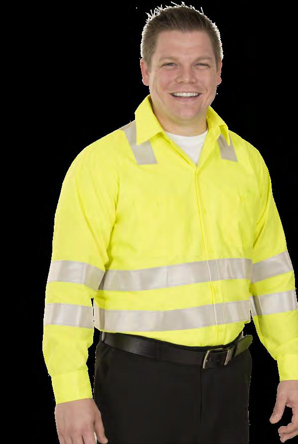 or low-light conditions, UniFirst offers a selection of safetyrated, high visibility and enhanced visibility garment options.