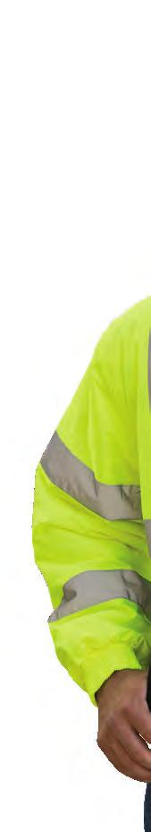 ANSI Type O, Class 1 Performance Class 1 offers the minimum amount of high visibility materials to differentiate the wearer from