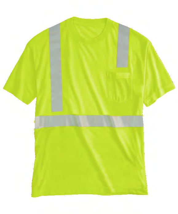 ANSI Type R or P, Class 2 Long Sleeve 09AH Short Sleeve 06AH Spotlite LX High Visibility s ANSI TYPE R or
