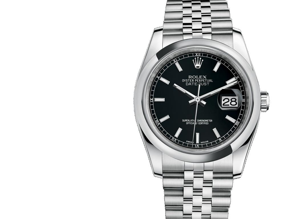 Oyster, 36 mm, steel DATEJUST 36 The elegant design