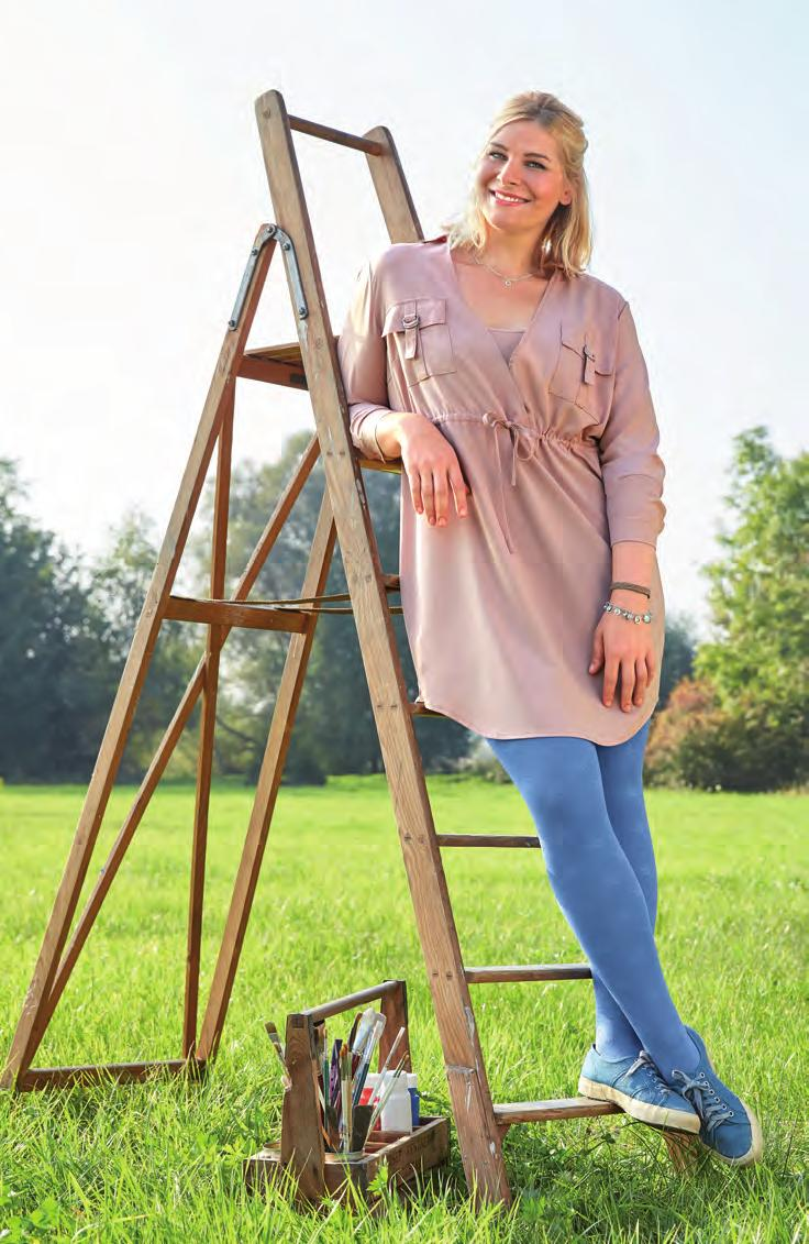Trend colour Blue-Jeans Trend colour Mint-green Stylish all-rounders Blue-Jeans is always a good