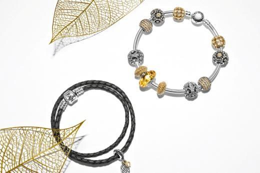0 billion DKK* (Danish kronor) New products: Pandora s autumn 2014 collection features a selection of rings, earrings, necklaces and the