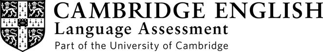 Student Name CAMBRIDGE ENGLISH EMPOWER B1 PROGRESS TEST Test 8 Time 30 minutes INSTRUCTIONS TO STUDENTS Do not