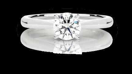 Flawless diamonds are extremely rare and valuable because the fewer the inclusions, the less interference with the passage of light (hence its greater sparkle).