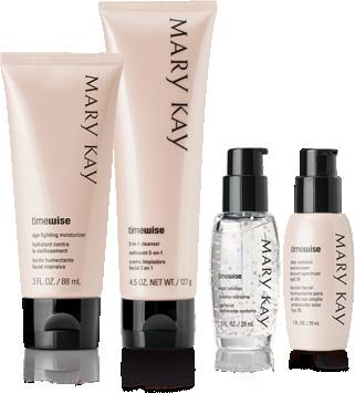 TIMEWISE Miracle Set This premium collection of age-fighting products delivers 11 benefits you need for younger-looking
