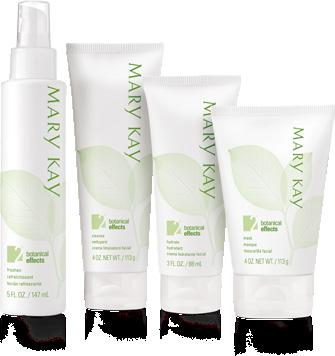 SKIN CARE Botanical Effects Try Botanical Effects for one week to experience the Mary Kay Glow!