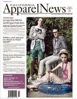 Trade Newspapers California Apparel News Fashion publications, LA.