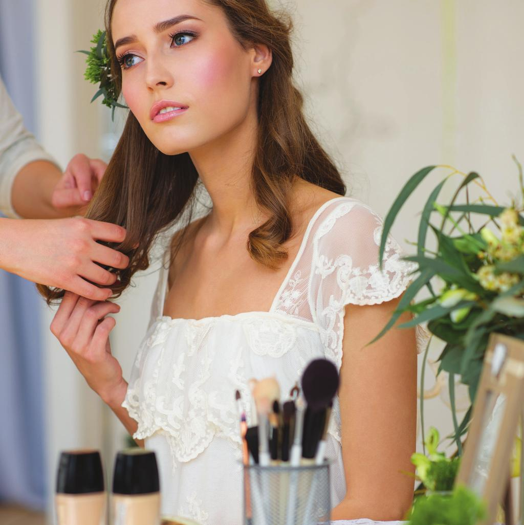 AZURE SALON HAIR STYLING SERVICES Shampoo & Styling Hair Up-Do Formal Style Cut and Color Services BRIDAL SERVICES Azure Salon always recommends for brides wanting to book their wedding hair and