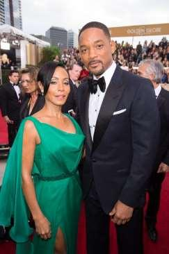 Tone on tone, Blindspot star Jamie Alexander matched her emerald and black Genny dress beautifully with Colombian emerald