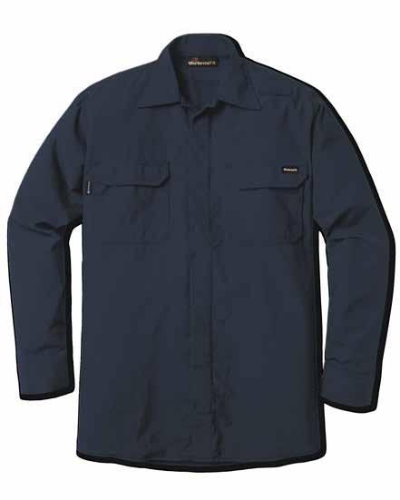 9 WESTERN FIREFIGHTER SHIRT Autoclaved with Workrite Uniform s PerfectPress process