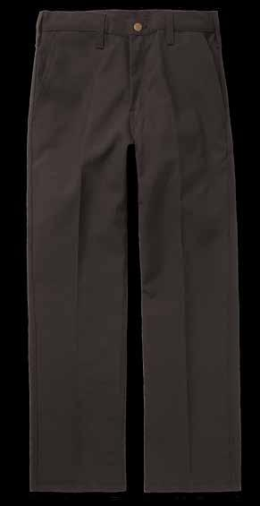 FIREFIGHTER PANT Autoclaved with Workrite Uniform s PerfectPress process for permanent creases Triple-felled lock side and seat
