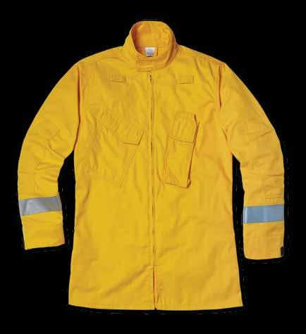 16 NEW WILDLAND RELAXED SHIRT JACKET 3M Scotchlite Reflective Material on sleeves 3-inch collar with hook-and-loop closure Two mic clips on