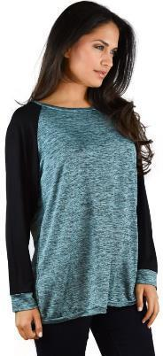 DBA1798 Lace Sleeve Scoop Neck