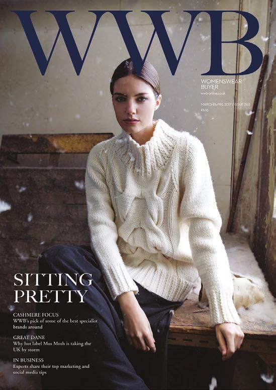 From established names through to new arrivals in the UK market, more womenswear brands advertise in WWB than in any other UK trade magazine.