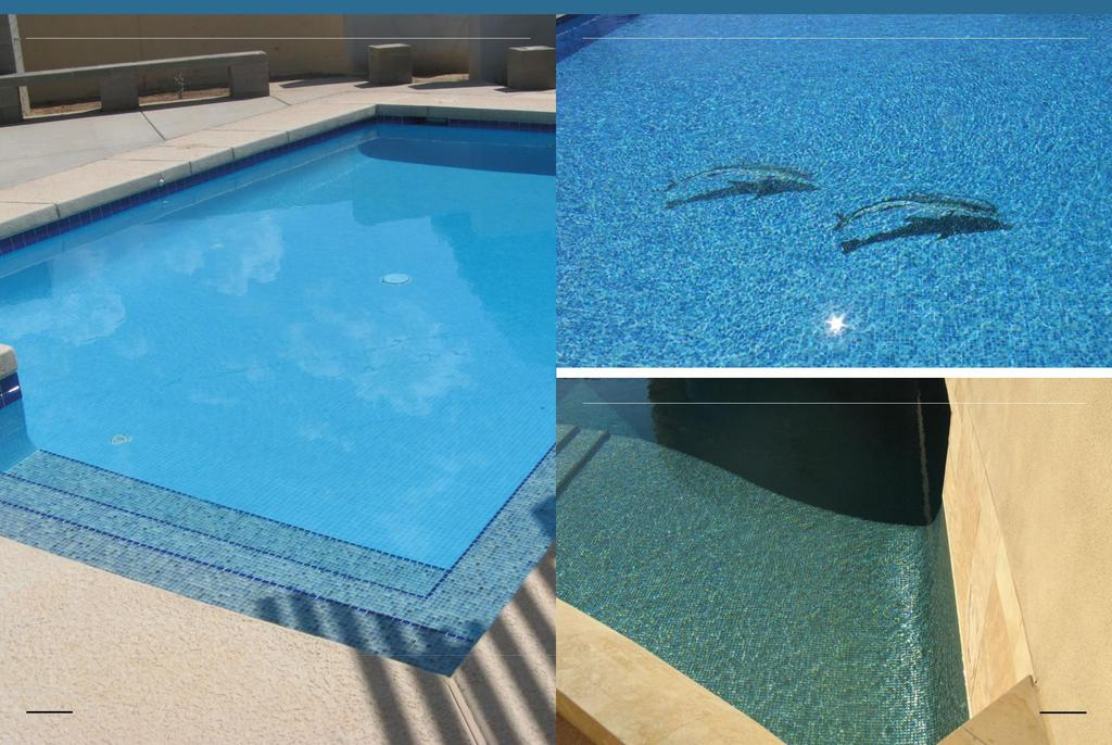 Private swimming pools, A + customized blend Private swimming