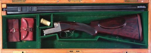 195 195 WESTLEY RICHARDS.A FINE.256 (6.5X53R) SIDELEVER HAND DETACHABLE BOXLOCK EJECTOR RIFLE, NO.