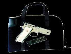 place Inside pocket for magazine or boxed ammunition Outer pocket Multiple keying options: - Master keyed series - Keyed alike series - Keyed differently HEAVY-DUTY COURIER BAG with Arcolock-7